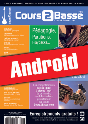 Cours 2 Basse n°34 (Android)