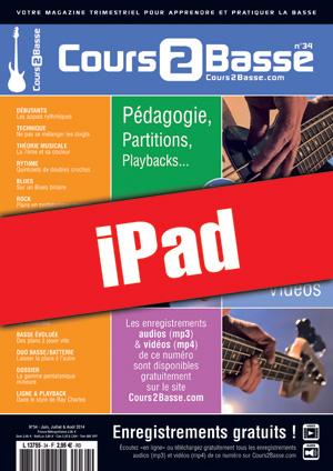 Cours 2 Basse n°34 (iPad)