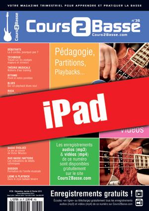 Cours 2 Basse n°36 (iPad)