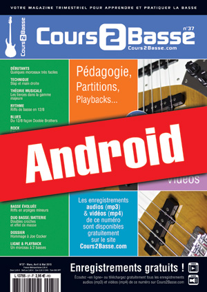 Cours 2 Basse n°37 (Android)