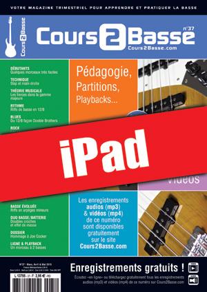 Cours 2 Basse n°37 (iPad)