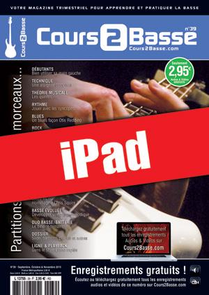 Cours 2 Basse n°39 (iPad)