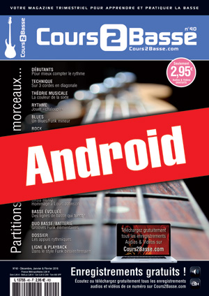 Cours 2 Basse n°40 (Android)