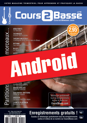 Cours 2 Basse n°41 (Android)