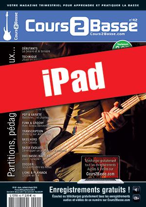 Cours 2 Basse n°42 (iPad)