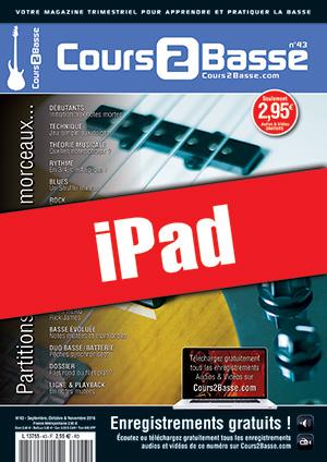Cours 2 Basse n°43 (iPad)