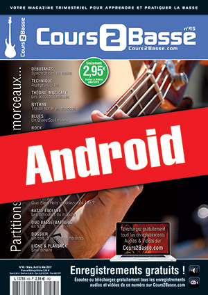 Cours 2 Basse n°45 (Android)