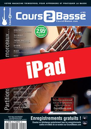 Cours 2 Basse n°45 (iPad)