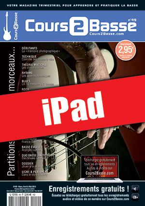 Cours 2 Basse n°49 (iPad)