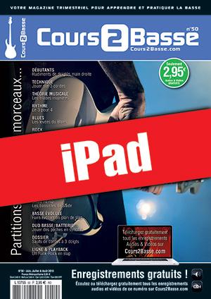 Cours 2 Basse n°50 (iPad)