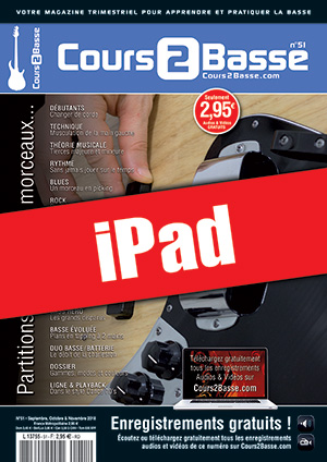 Cours 2 Basse n°51 (iPad)