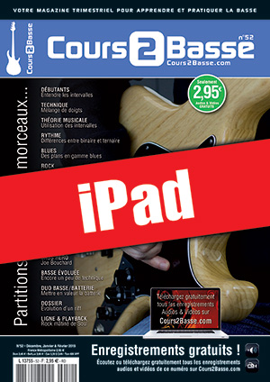 Cours 2 Basse n°52 (iPad)