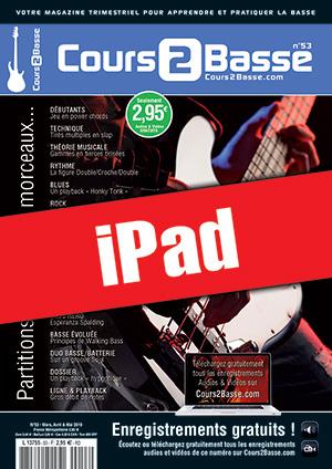 Cours 2 Basse n°53 (iPad)