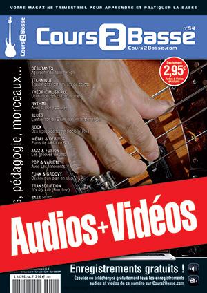 Enregistrements du Cours 2 Basse n°54