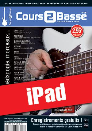 Cours 2 Basse n°55 (iPad)