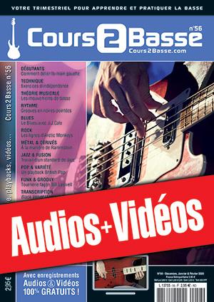 Enregistrements du Cours 2 Basse n°56
