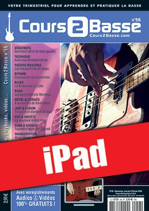 Cours 2 Basse n°56 (iPad)