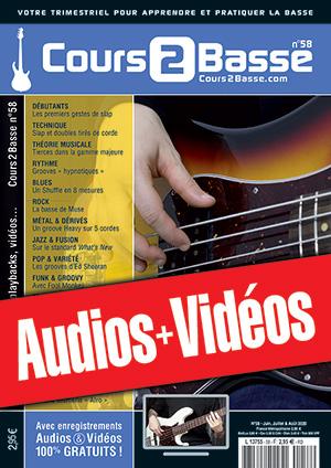 Enregistrements du Cours 2 Basse n°58
