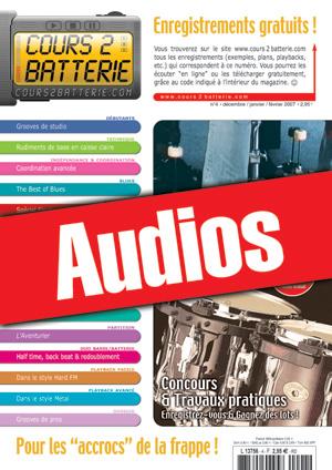Enregistrements du Cours 2 Batterie n°4