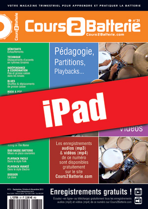 Cours 2 Batterie n°31 (iPad)