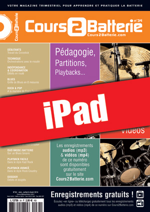 Cours 2 Batterie n°34 (iPad)