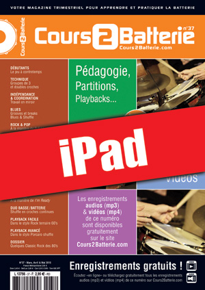 Cours 2 Batterie n°37 (iPad)