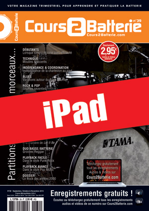Cours 2 Batterie n°39 (iPad)