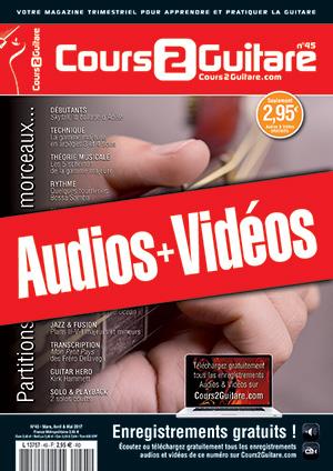 Enregistrements du Cours 2 Guitare n°45