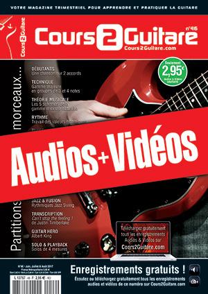 Enregistrements du Cours 2 Guitare n°46