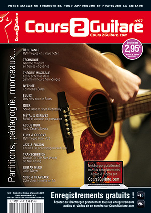 Cours 2 Guitare n°47