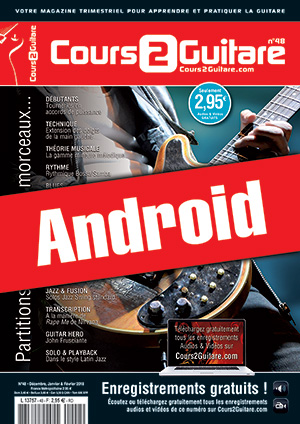 Cours 2 Guitare n°48 (Android)
