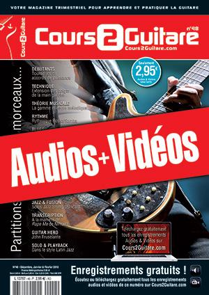 Enregistrements du Cours 2 Guitare n°48