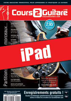 Cours 2 Guitare n°48 (iPad)