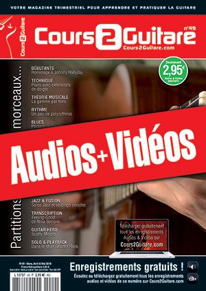 Enregistrements du Cours 2 Guitare n°49