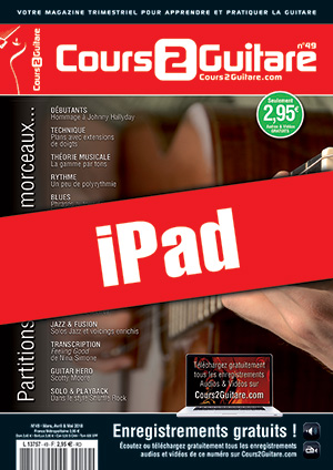 Cours 2 Guitare n°49 (iPad)