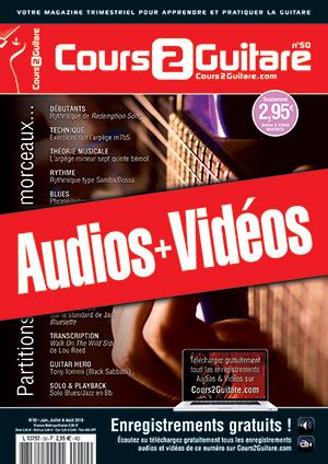 Enregistrements du Cours 2 Guitare n°50