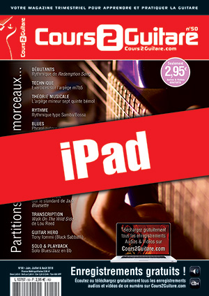 Cours 2 Guitare n°50 (iPad)