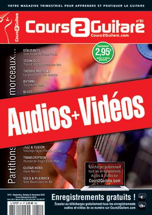 Enregistrements du Cours 2 Guitare n°51