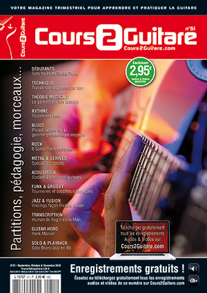 Cours 2 Guitare n°51