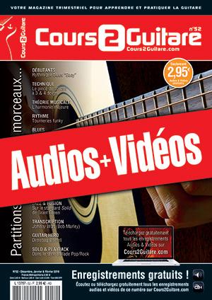 Enregistrements du Cours 2 Guitare n°52