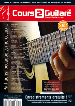 Cours 2 Guitare n°52