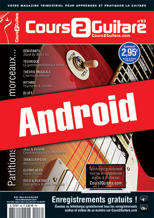 Cours 2 Guitare n°53 (Android)