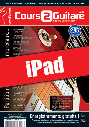Cours 2 Guitare n°53 (iPad)