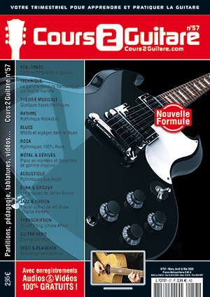 Cours 2 Guitare n°57