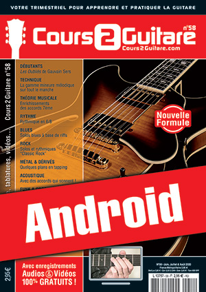 Cours 2 Guitare n°58 (Android)