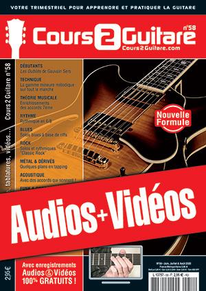 Enregistrements du Cours 2 Guitare n°58