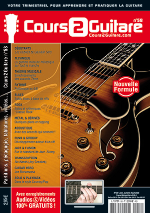 Cours 2 Guitare n°58