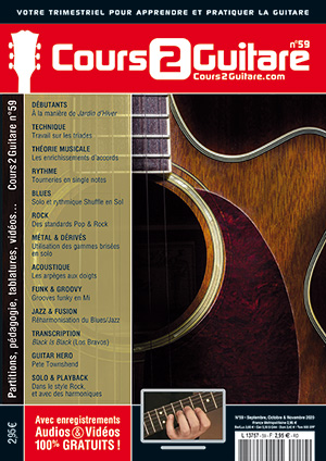 Cours 2 Guitare n°59