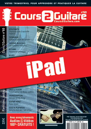 Cours 2 Guitare n°60 (iPad)
