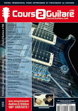 Cours 2 Guitare n°60